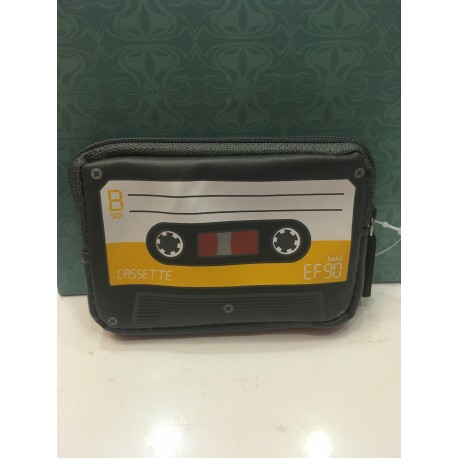 Cartera cassette gris